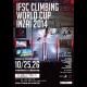 IFSC CLIMBING WORLD CUP INZAI 2014