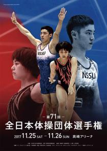 第71回 全日本体操団体選手権