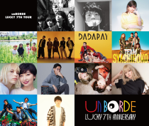 unBORDE LUCKY 7TH  TOUR