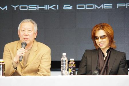 「童夢」林オーナーとYOSHIKI