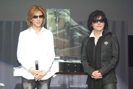 YOSHIKIとTOSHI