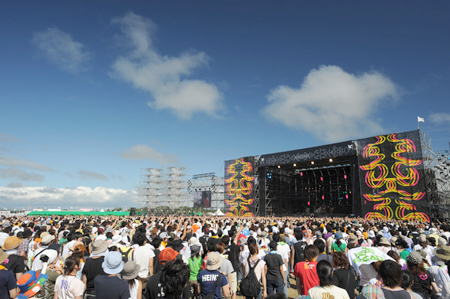 昨年のRISING SUN ROCK FESTIVAL