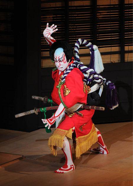 新橋演舞場八月花形歌舞伎「義経千本桜」鳥居前