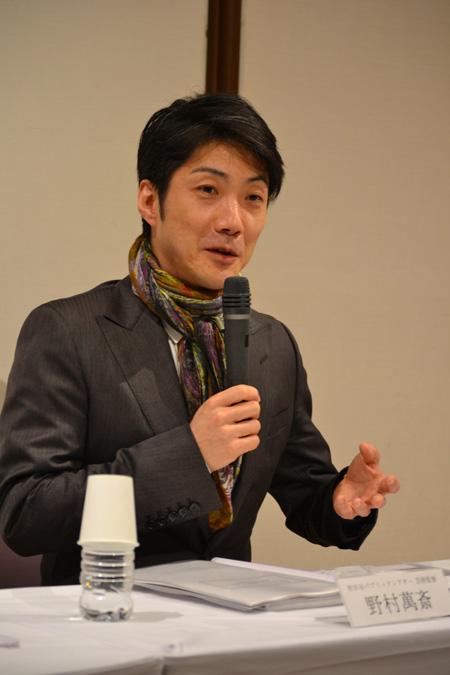 野村萬斎「尖った作品作りを」。世田谷パブリックシアターが新年度プログラムを発表 2013/4/10 17:44配信