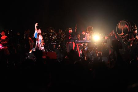 HEAVENESE ライブの模様