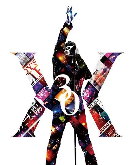 吉川晃司の30周年記念ライブのポスター