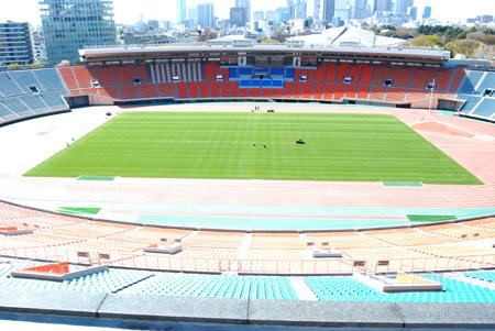 国立競技場 国立競技場  座席や芝生など、国立競技場の備品、一般発売決定