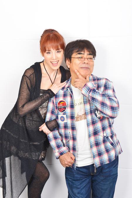『のるかそるかSINK or SWIM!~』に出演する小倉久寛と未唯mie 撮影:源賀津己
