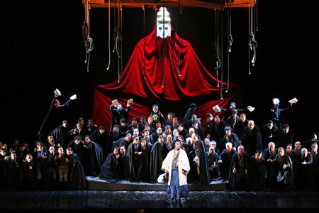 オペラ「遠い帆」仙台公演の様子(2013年12月)