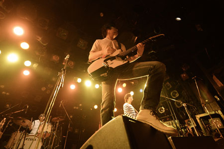 the pillows ライブの模様