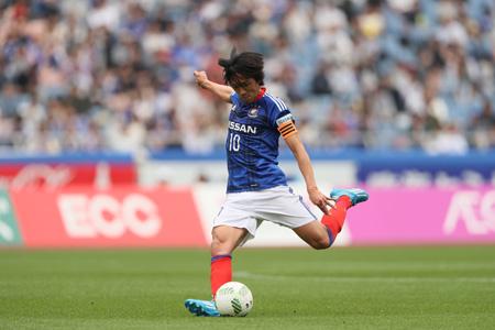 中村俊輔(横浜F・マリノス) (c)J.LEAGUE PHOTOS
