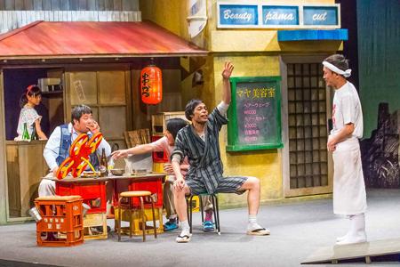 ヨーロッパ企画第35回公演『来てけつかるべき新世界』 舞台写真:清水俊洋