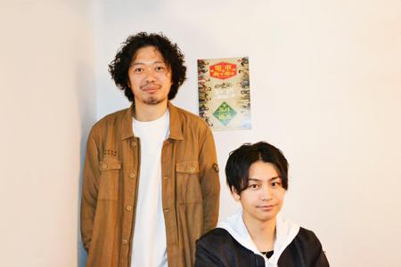 左から、丸尾丸一郎、小澤亮太