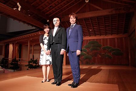 左から、苫田亜沙子、村俊英、北澤裕輔