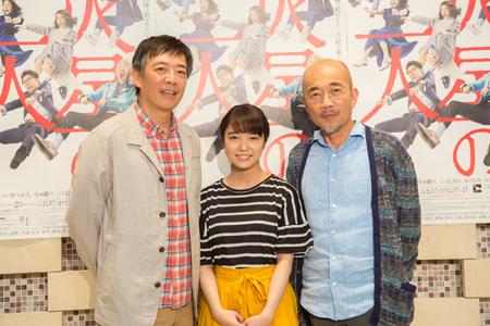 (画像左から)生瀬勝久、上白石萌音、竹中直人 撮影:石阪大輔