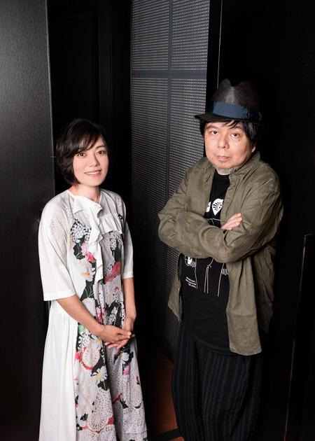 (画像左から)鈴木杏、ケラリーノ・サンドロヴィッチ 撮影:川野結李歌