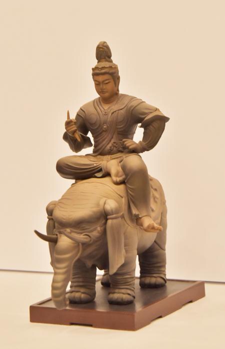 特別展「国宝 東寺-空海と仏像曼荼羅 」会見より (C)KAIYODO
