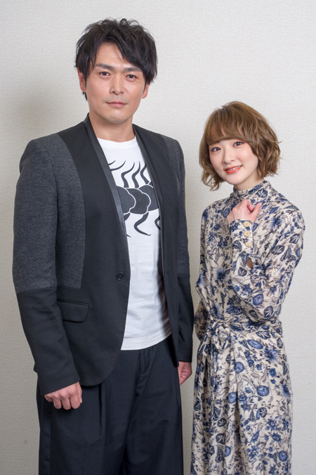 (画像左から)井俣太良、生駒里奈