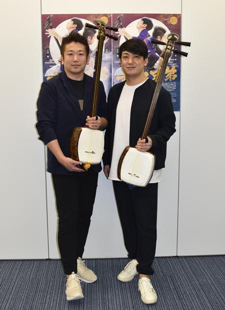 吉田兄弟 兄・良一郎(左)、弟・健一(右)