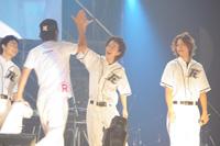 (左から)尾上寛之、桐谷健太、佐藤健、五十嵐隼士