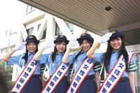 (左から)前田栄子、小野晴香、大矢真那、古川愛李