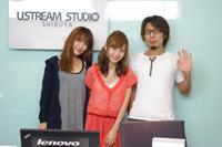 左から、坂本美雨、May、Daichi(ともにSweet Vacation)
