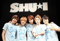 SHU-I 左からチャンヒョン、ミンホ、インソク、ヒョンジュン、ジンソク
