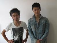 左から和田正人、馬場徹