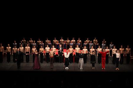 ギエムが発起人となった<HOPE JAPAN>チャリティ・ガラ公演カーテンコール(photo:Kiyonori Hasegawa)