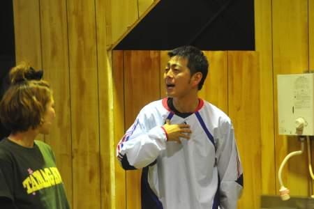 東京セレソンデラックス2012年番外公演『ピリオド』稽古場より(撮影:源 賀津己)