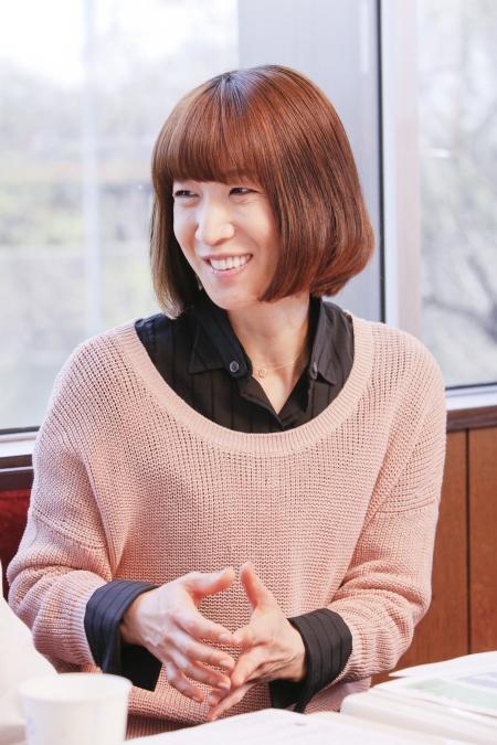 春野寿美礼 撮影:西村康