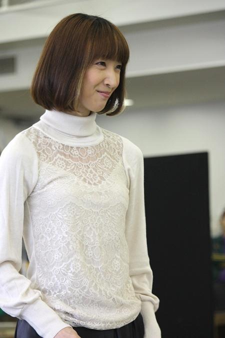 『エリザベート』稽古場より 春野寿美礼