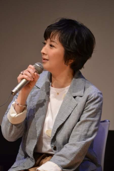 音楽劇『リンダリンダ』会見より 高橋由美子