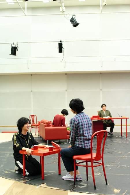 『温室』稽古場より(撮影:本房哲治)