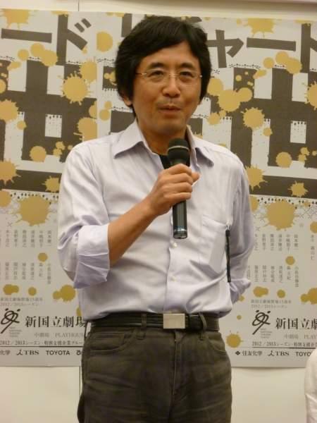 『リチャード三世』会見より 演出の鵜山仁