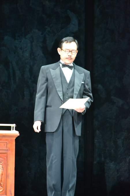 『英国王のスピーチ』舞台より