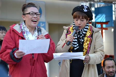 司会を務める柴田理恵と久本雅美