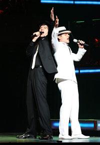 ミュージカル・コンサート『4Stars』より。城田優、ラミン・カリムルー