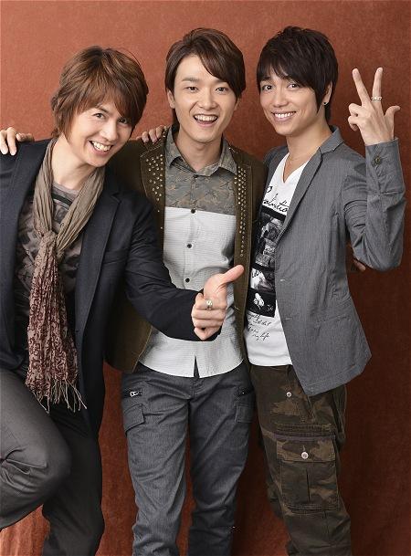 StarS(左から浦井健治、井上芳雄、山崎育三郎) 撮影:源賀津己