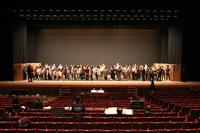 オペラ『遠い帆』舞台稽古より
