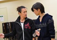 左から、安居剣一郎、中村誠治郎