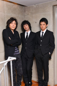 左から、三浦大輔、峯田和伸、池松壮亮