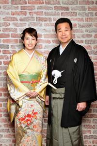 沢口靖子、三宅裕司  撮影:源 賀津己