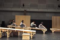 舞台『十九歳のジェイコブ』稽古場より 撮影:黒豆直樹