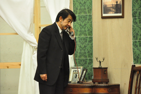 舞台『ウィンズロウ・ボーイ』稽古場より 撮影:黒豆直樹