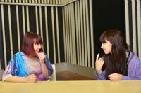 左から、大森靖子、根本宗子  撮影:源 賀津己
