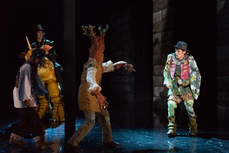 舞台『ダブリンの鐘つきカビ人間』 撮影::加藤幸広