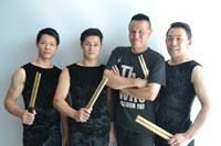 (画像左から)神谷俊一郎、坂本雅幸、梶原徹也、石塚充