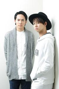(画像左から)平埜生成、柳下大 撮影:石阪大輔