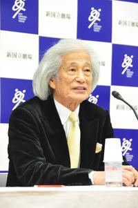 飯守泰次郎(新国立劇場オペラ芸術監督)
